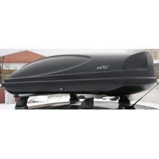 Автобокс на крышу  Koffer черный матовый 430л.