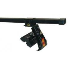 Багажник АМОС (стальные дуги) для MITSUBISHI Colt Hatchback 04-12 5дв. ГЛАДКАЯ КРЫША