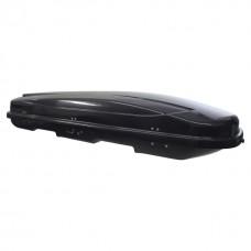 Автобокс на крышу Rameder Xtreme 600 двухсторонний чёрный