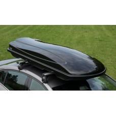 """Автобокс на крышу  """"АМОС"""" 500 л чёрный"""