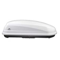 """Автобокс на крышу  """"AMOS"""" TRAVELPACK 400 белый."""