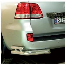DLCV8-R1285-NR-01 НИЖНИЙ ЗАДНИЙ БАМПЕР (БОКОВАЯ ЗАЩИТА) (Toyota Land Cruiser V8 2012 -)
